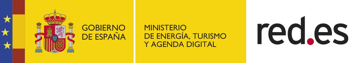 RED.es Ministerio de energía, turismo y agenda digital